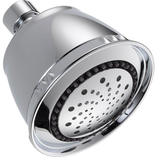 Delta 5-Setting Touch-Clean Shower Head in Chrome 561159