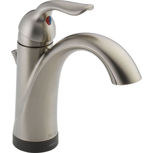 Delta Lahara Touch2O Electronic Brilliance Stainless Bathroom Faucet 538347