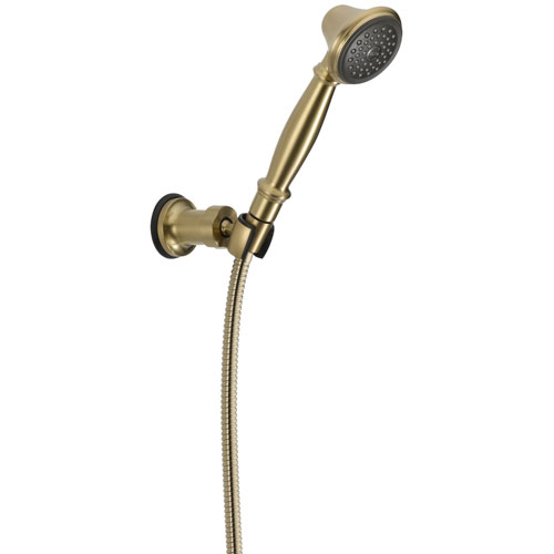 Delta 1-Spray Champagne Bronze Wall-Mount Personal Handheld Shower Head 563286