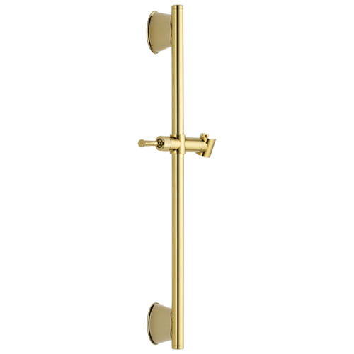 Delta Universal Showering Components Collection Polished Brass Finish 24