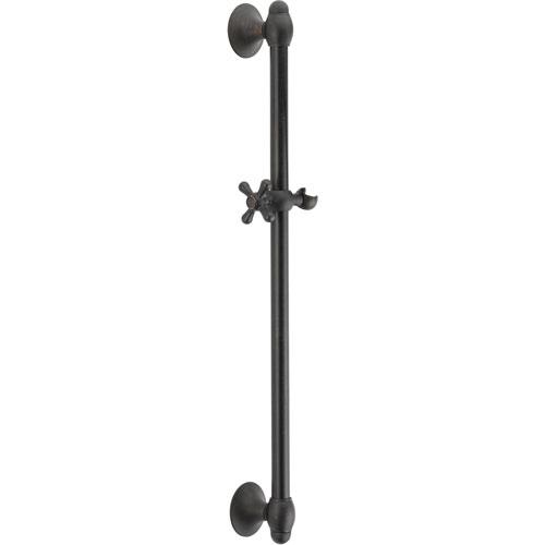 Delta 29 inch Adjustable Venetian Bronze Handheld Shower Wall Slide Bar 561196