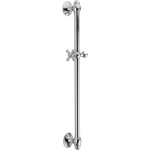 Delta 29 inch Adjustable Wall Mount Slide Bar for Hand Shower in Chrome 561067