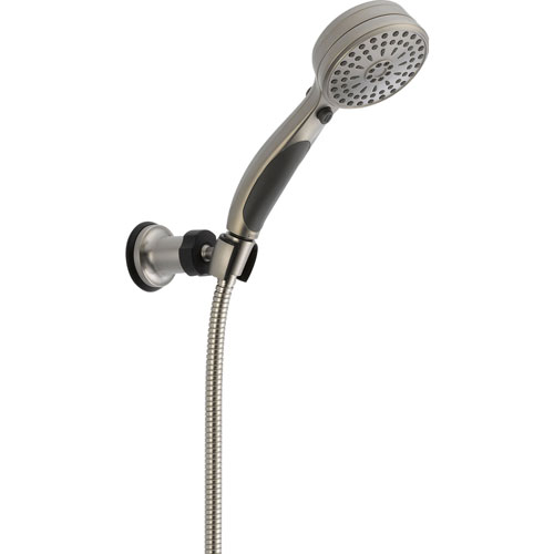 Delta Stainless Steel Finish ActivTouch Wall Mount Handheld Shower Head 561199