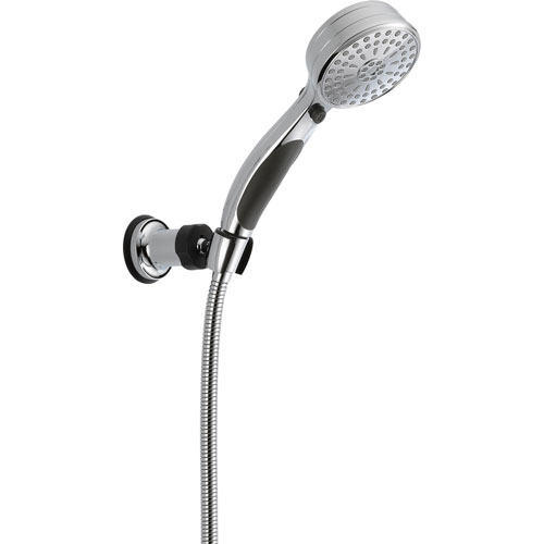 Delta 9-Spray ActivTouch Chrome Handheld Shower Head w/ Wall Bracket 561068