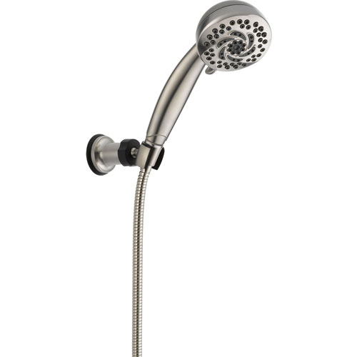 Delta 5-Spray Fixed Wall Mount Handshower in Stainless Steel Finish 561202