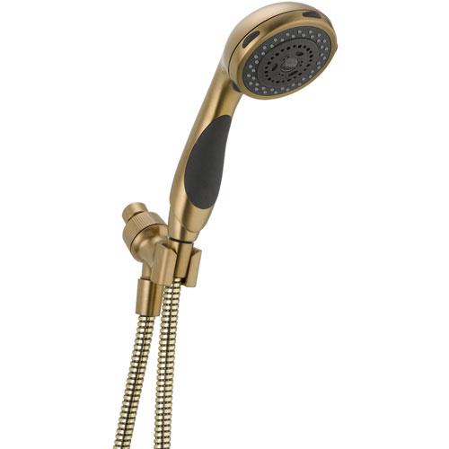 Delta Classic 3-Spray Shower Arm Mount Handshower in Champagne Bronze 572987