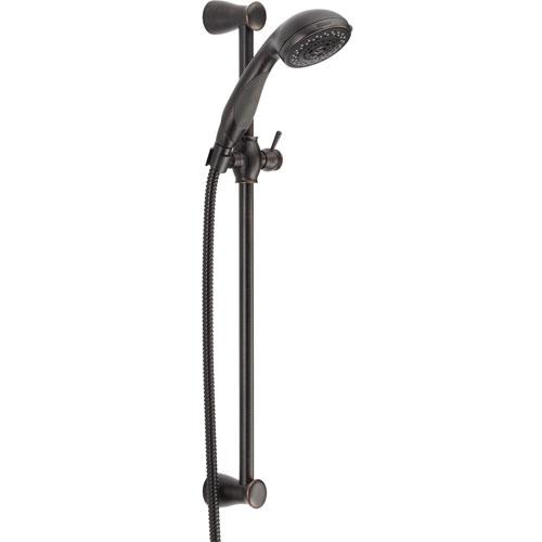 Delta Venetian Bronze Personal Handheld Showerhead Faucet with Slide Bar 526540