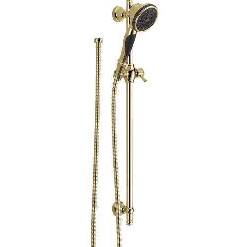 Delta Polished Brass Personal Handheld Showerhead Faucet with Slide Bar 526543