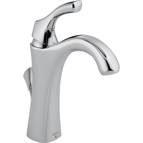 Delta Addison Single Hole 1-Handle Chrome Finish Tall Bathroom Faucet 495511