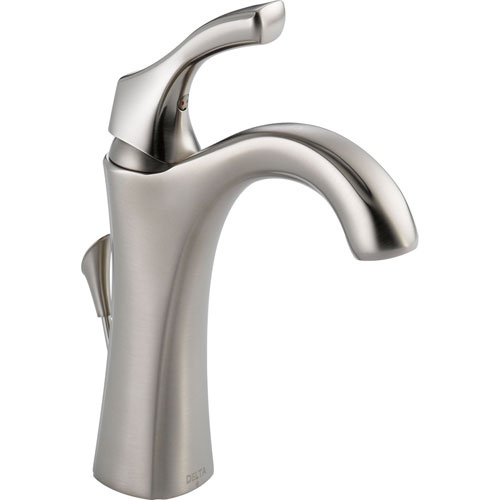 Addison Delta Bathroom Faucet: Delta Addison Single Handle Stainless Steel Finish Tall