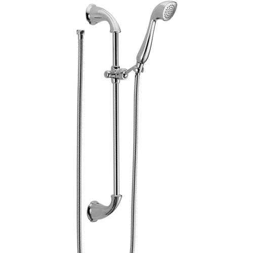 Delta Addison Chrome Handheld Shower Head with Slide Bar 476136