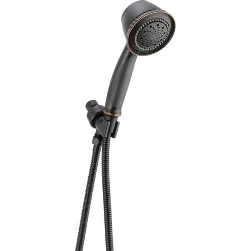 Delta 5-Spray Shower Arm Mount Handheld Shower Faucet in Venetian Bronze 561243