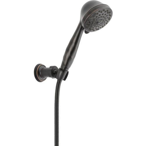 Delta 5-Spray Adjustable Wall Mount Handheld Shower in Venetian Bronze 563276