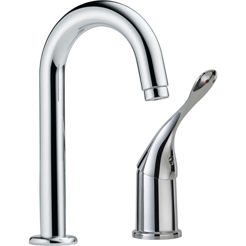 Delta Commercial Single Handle Bar Faucet in Chrome 608650