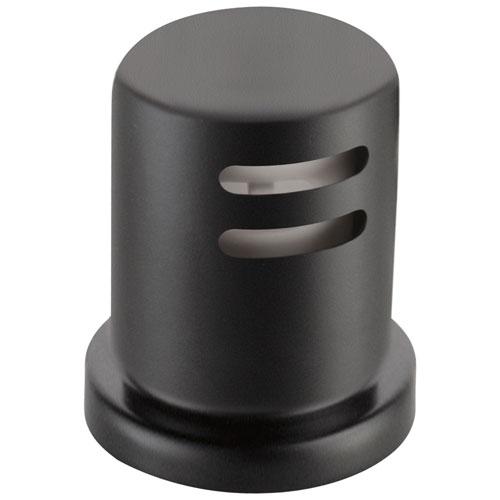 Delta Matte Black Finish Kitchen Sink Accessory Dishwasher Air Gap D72020BL