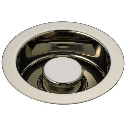 Delta Polished Nickel Finish Kitchen Sink Garbage Disposal and Flange Stopper D72030PN