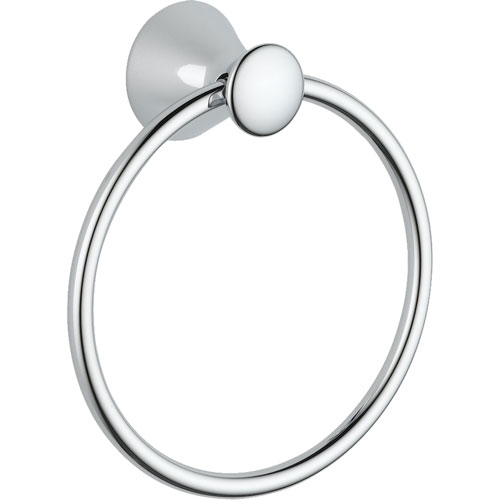 Delta Lahara Bathroom Accessory Chrome Hand Towel Ring 338437