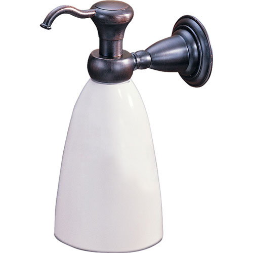 Delta Victorian Traditional Venetian Bronze Wall-Mount Soap Dispenser 387405