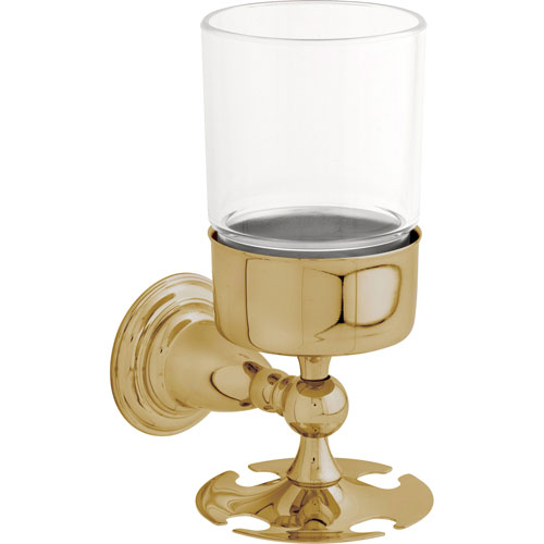 Delta Victorian Wall Mounted Polished Brass Toothbrush / Tumbler Holder 387525