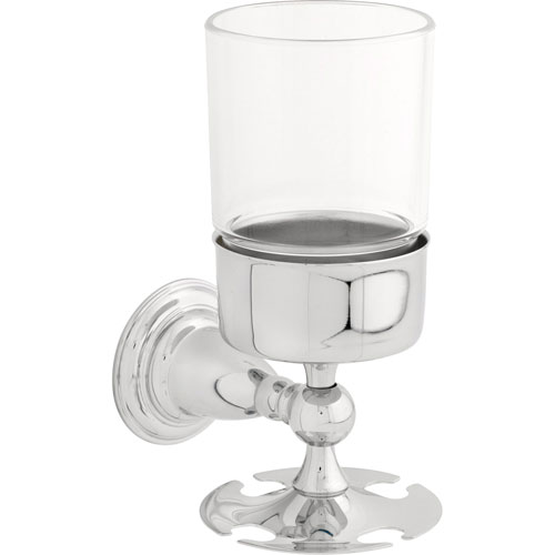 Delta Victorian Wall-Mount Toothbrush/Tumbler Holder in Chrome 387509