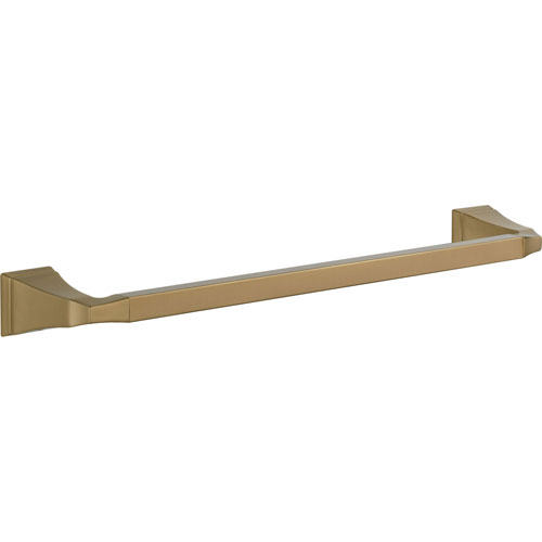 Delta Dryden Champagne Bronze Finish 18 inch Modern Single Towel Bar 567278