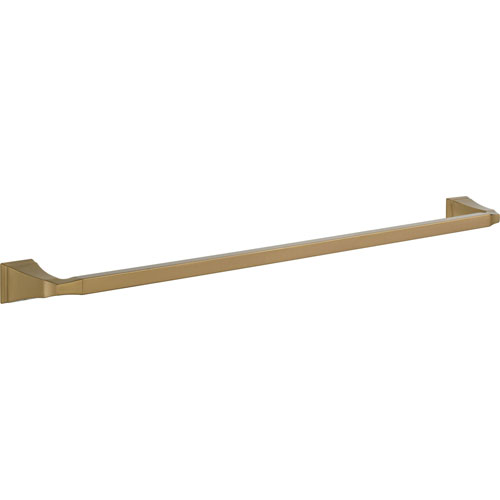 Delta Dryden Champagne Bronze Finish 30 inch Modern Single Towel Bar 637086