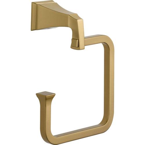 Delta Dryden Champagne Bronze Modern Hand Towel Ring 567287