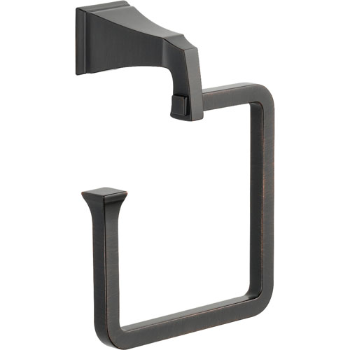 Delta Dryden Venetian Bronze Modern Hand Towel Ring 455145