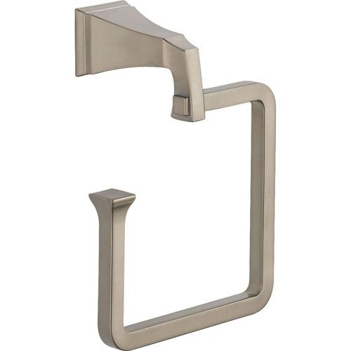 Delta Dryden Stainless Steel Finish Modern Hand Towel Ring 455229