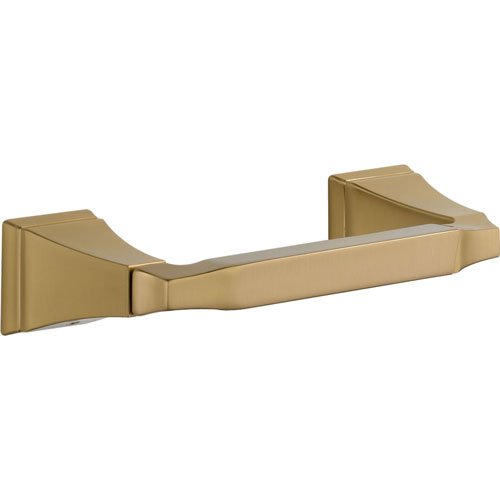 Delta Dryden Double Post Toilet Paper Holder in Champagne Bronze 567284