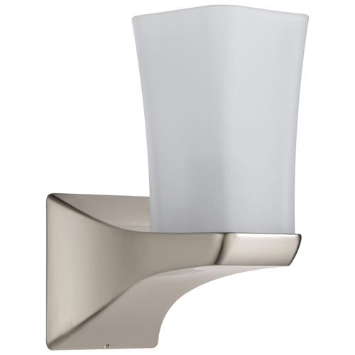 Delta Tesla Collection Stainless Steel Finish Modern Single Light Fixture Wall Sconce D75270SS