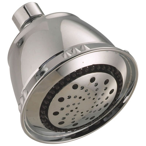 Delta Universal Showering Components Collection Satin Nickel Finish 5-Setting Traditional Shower Head 737462