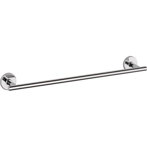 Delta Trinsic Modern Contemporary 18 inch Chrome Single Towel Bar 590173