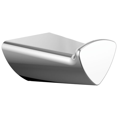 Delta Zura Collection Chrome Finish Modern Single Post Towel / Robe Hook D77435