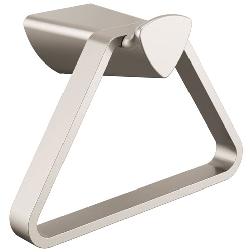 Delta Zura Collection Stainless Steel Finish Modern Triangular Wall