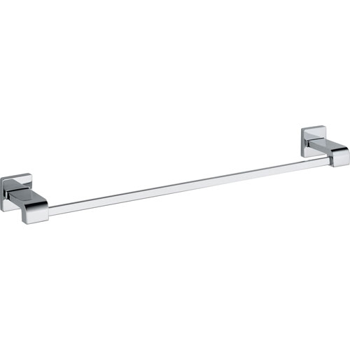Delta Arzo 24 inch Modern Chrome Single Towel Bar 353113
