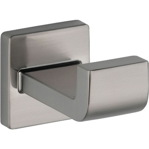 Delta Ara Stainless Steel Finish Modern Bathroom Accessory Robe Hook 353149
