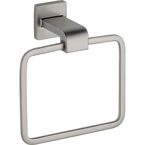 Delta Ara Modern Stainless Steel Finish Hand Towel Ring 353177