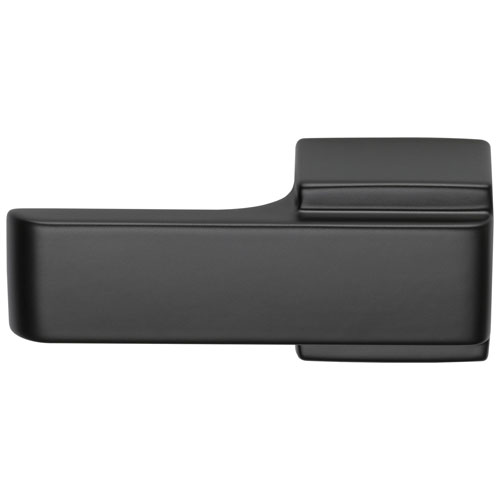 Delta Arzo Collection Matte Black Finish Modern Contemporary Universal Mount Toilet Tank Flush Lever D77560BL