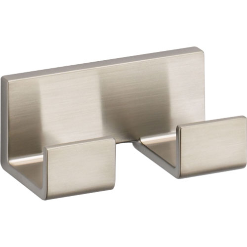 Delta Vero Modern Stainless Steel Finish Double Robe Hook 521894