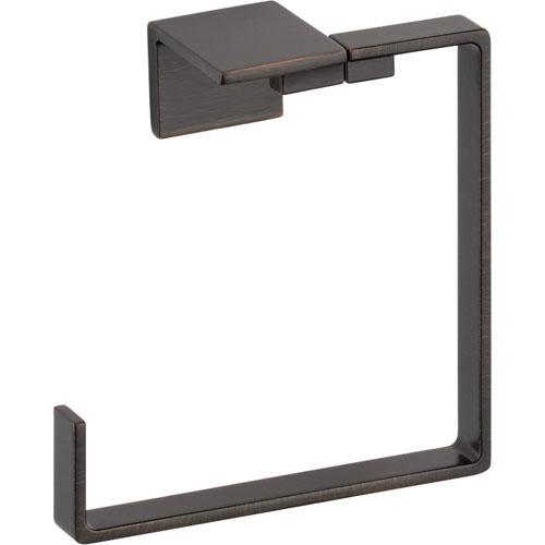 Delta Vero Modern Venetian Bronze Square Hand Towel Ring 556036