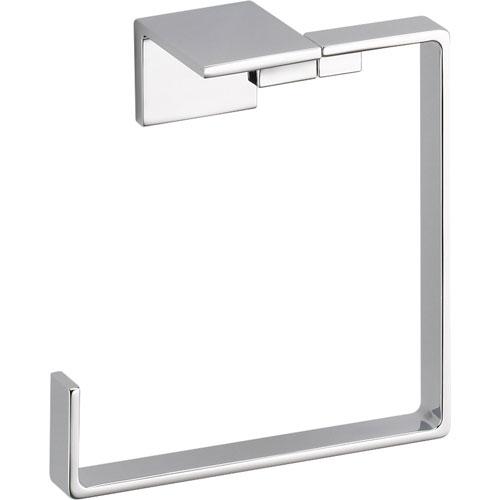 Delta Vero Modern Bathroom Accessory Hand Towel Ring in Chrome 521896