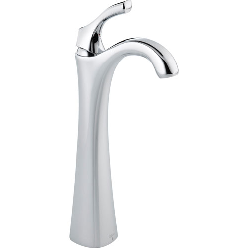 Delta Addison Single Handle Chrome Finish Vessel Sink Bathroom Faucet 495527
