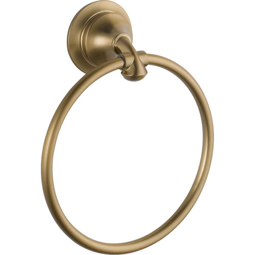 Delta Linden Collection Champagne Bronze Hand Towel Ring 555666