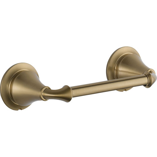 Delta Linden Collection Champagne Bronze Double Post Toilet Paper Holder 555670