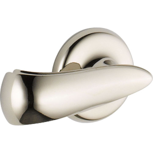 Delta Cassidy Polished Nickel French Curve Toilet Tank Flush Handle 579581