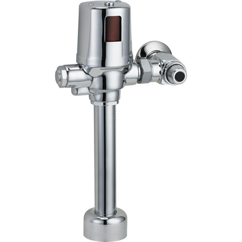 Delta Commercial Exposed Hardware-Operated Flush Valve in Chrome 608659