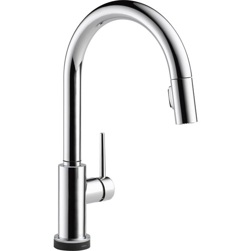 Delta Trinsic Touch2O Chrome Single Handle Pull-Down Spray Kitchen Faucet 556054
