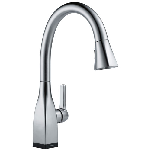 Delta Mateo Collection Arctic Stainless Steel Finish Single Handle ...