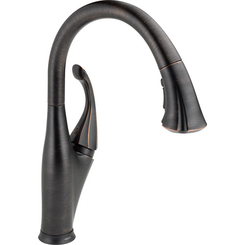 Delta Addison Touch2O Venetian Bronze Pull-Down Sprayer Kitchen Faucet 521998